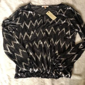 Skies Are Blue Tops - Nwt dressy women's blouse
